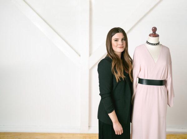 Bernina 480 eksempel på kjole