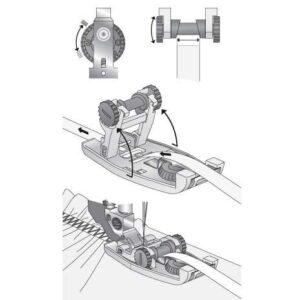 Pfaff Elastikfod til IDT™-system