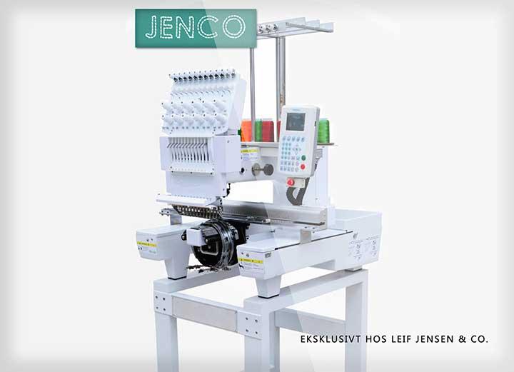 JENCO Broderimaskine med 12 nåle og Touchskærm